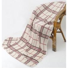 格紋四季毯-米白